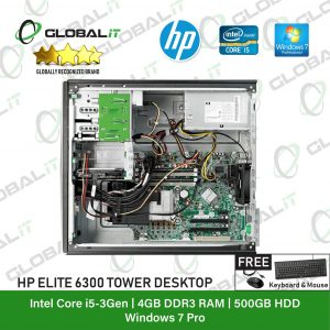 HP Compaq 6300 i5 TW (Refurbished)
